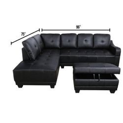 Big Couch Leather for Sale in Port Richey,  FL