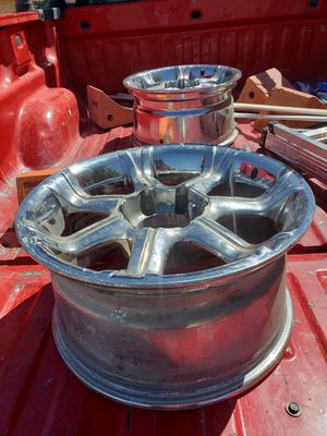 Two 18x9 Six Lug rims for spares for Sale in Tucson, AZ