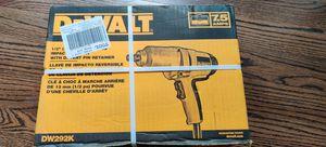 "NIB: DeWalt DW292K 1/2"" impact wrench with detent pin for Sale in Falls Church, VA"