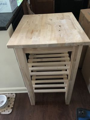 Wooden kitchen island for Sale in Atlanta, GA