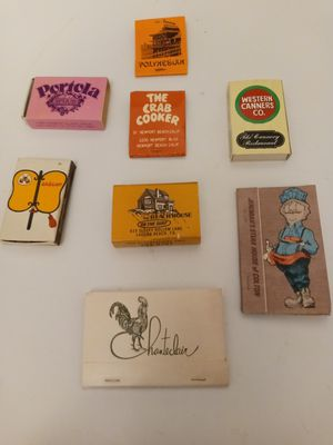 Collectable Match Books for Sale in Fullerton, CA