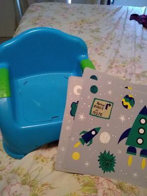 Booster seat and play mats for Sale in Wichita, KS