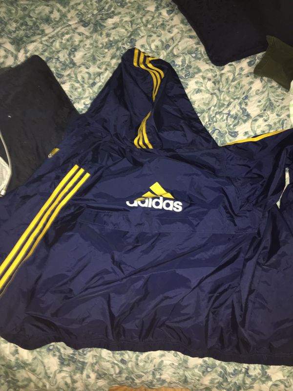 Adidas 80s vintage windbreaker jacket