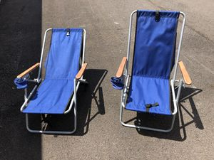 2 foldable chairs for Sale in Plain City, OH