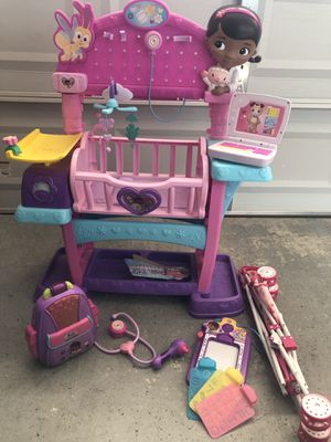 Doc mcstuffins toys and doll stroller for Sale in Henderson, NV