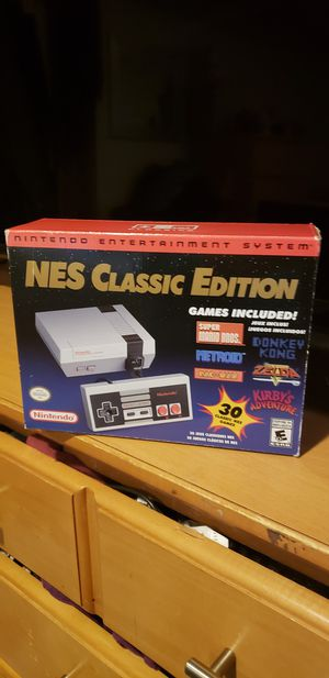 NES classic addition the hacked version it has over 1100 games for Sale in Alexandria, VA