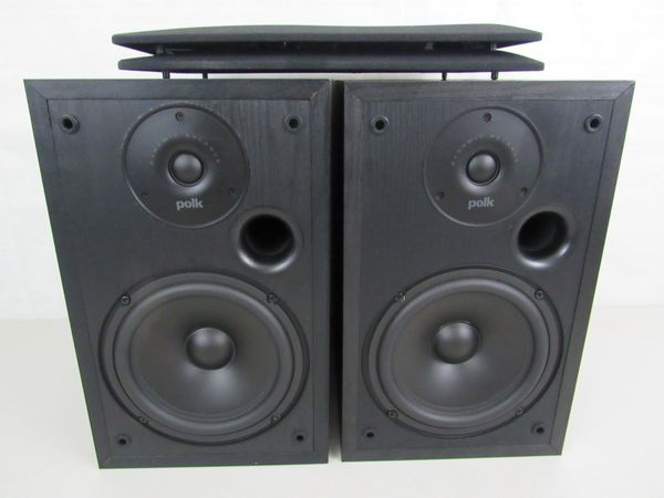 Polk Audio R20 (2 Way) Dynamic Balance Book Shelf Speakers
