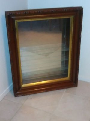 Wooden Glass Show Case for Sale in Patterson, CA