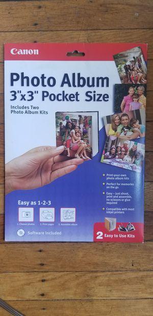 "3"" x 3"" Photo Album Print Paper (Canon, CD softwar for Sale in Philadelphia, PA"