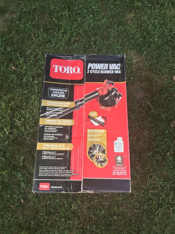 Toro Handheld Gas Leaf Blower/Mulcher/Vac