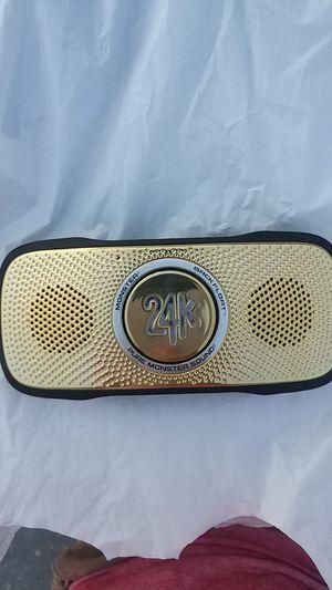 Monster brand bluetooth speaker for Sale in Vallejo, CA