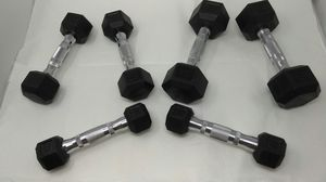 CAP Dumbbell Weights, 3 sets, 8#, 5# & 3# for Sale in Tacoma, WA