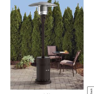 PatrioMainstays Large Outdoor Patio Heater, Powder Coat Brown brand new in box/ I have 5 in total for Sale in Arlington, VA