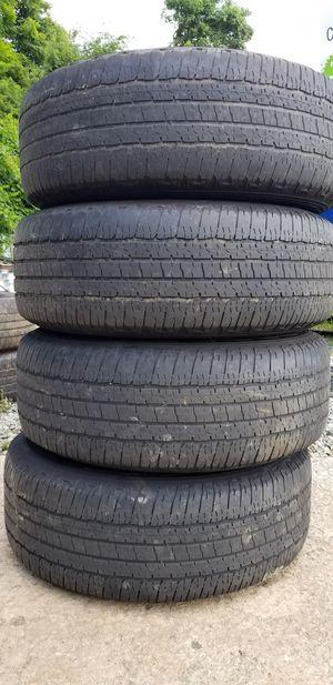 4 rims &tires 265/70/17 for Sale in Lexington, NC