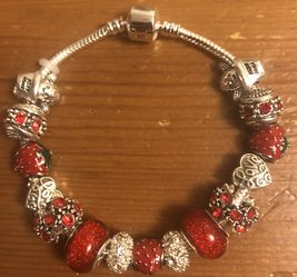 Strawberry 🍓 Love Charm Bracelet for Sale in Chicago,  IL