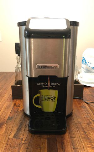 Cuisinart Single Serve Grind and Brew Coffeemaker for Sale in Houston, TX