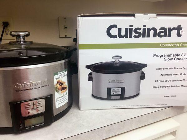 Cuisinart programmable slow cooker 3.5 qt