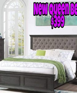 NEW QUEEN BED💥PILLOW TOP MATTRESS INCLUDED 💥IN STOCK ‼️ for Sale in Compton,  CA