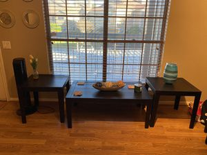 Coffee table and 2 end tables for Sale in Houston, TX