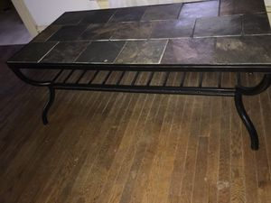 coffee table with two end tables for Sale in Brookneal, VA
