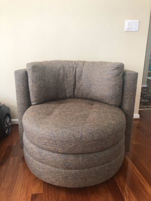Designer Swivel chairs. Top quality fabric for Sale in McLean, VA