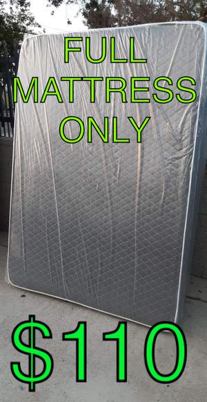 Full mattress only for Sale in Los Angeles, CA