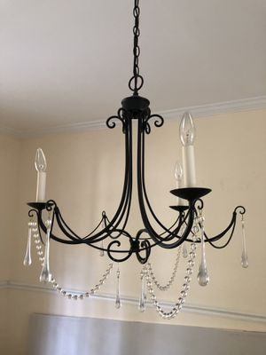 Black Crystal Chandelier for Sale in Potomac, MD