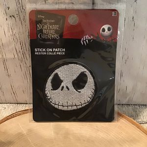 Disney Nightmare Before Christmas Jack Skellington Iron On Patch for Sale in Pompano Beach, FL
