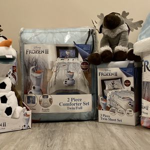 Twin Size Frozen 2 Bedding Set-Olaf for Sale in Fort Lauderdale, FL