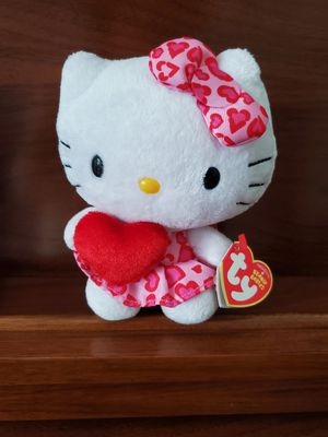 Beanie Babies TY Hello Kitty Heart (Plush Toy) for Sale in Miami, FL