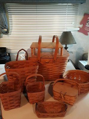 Collection of Longaberger vintage 1991-1993 for Sale in Chesapeake, VA