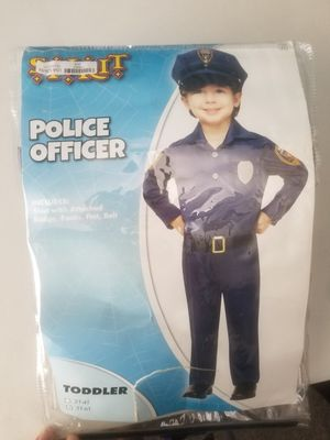Kids Police Officer Costume for Sale in Ontario, CA