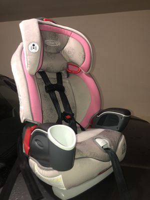 Graco 3-in-1 Harness Booster car seat 20 lbs to 100lbs for Sale in Spring, TX