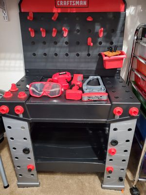 Kids Craftsman Tool Bench for Sale in Chesapeake, VA