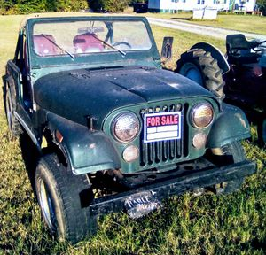 1979 Jeep CJ7 4wd V8 Automatic for Sale in Lewisburg, TN