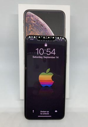 iPhone XS Max 256gb gold like new for AT&T for Sale in Fontana, CA