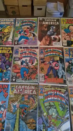 Captain America comics $2 each for Sale in Shelton, CT