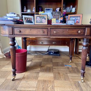 Solid Wood Desk Large Heavy for Sale in The Bronx, NY