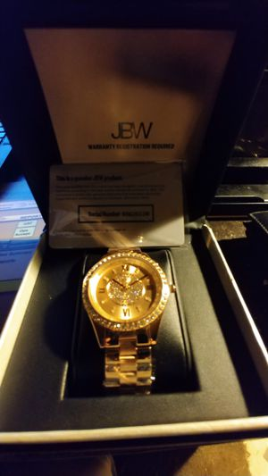New, Authentic JBW Women's Mondarin Rose Gold Plated Diamond Watch. JBW Logo Box. for Sale in Pinellas Park, FL