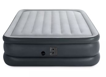 Shipping Only - Queen Dura Beam Essential Bed Air Mattress w/ Built-in Electric Pump, Gray for Sale in San Diego,  CA