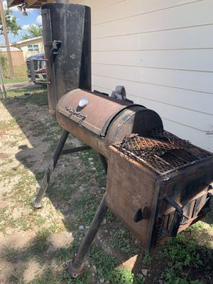 BBQ pit and smoker for sale for Sale in Grape Creek, TX