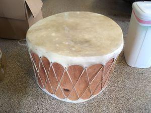 Native American Log Drum Table for Sale in McLean, VA