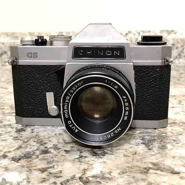 70s Vintage CHINON Zoom Lens Film Camera