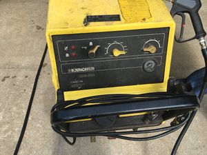 Karcher HDS 580 with Extended Hose and Nozzle for Sale in Queens, NY