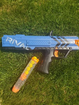 Nerf rival nerf gun for Sale in Richland, WA