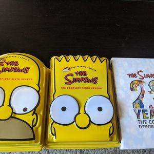 Simpsons DVD Collection for Sale in St. Petersburg, FL