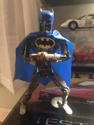 Scrap metal batman one of a kind (cool) for Sale in Boston, MA