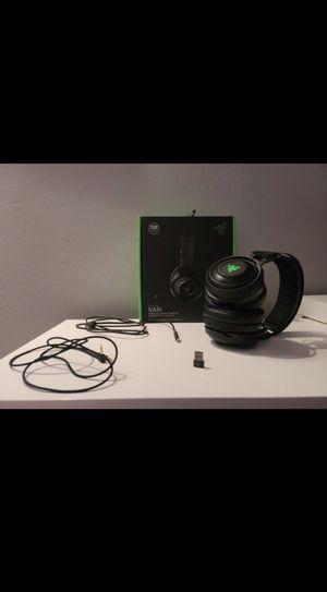 Razer Nari Ultimate wireless headset for Sale in Perkasie, PA