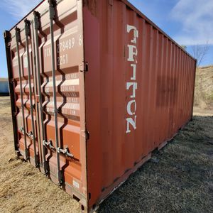 20ft Wind & Water Tight Shipping Container For Sale for Sale in Fort Worth, TX