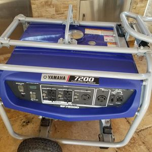 Generator 7200 Yamaha for Sale in Miami, FL
